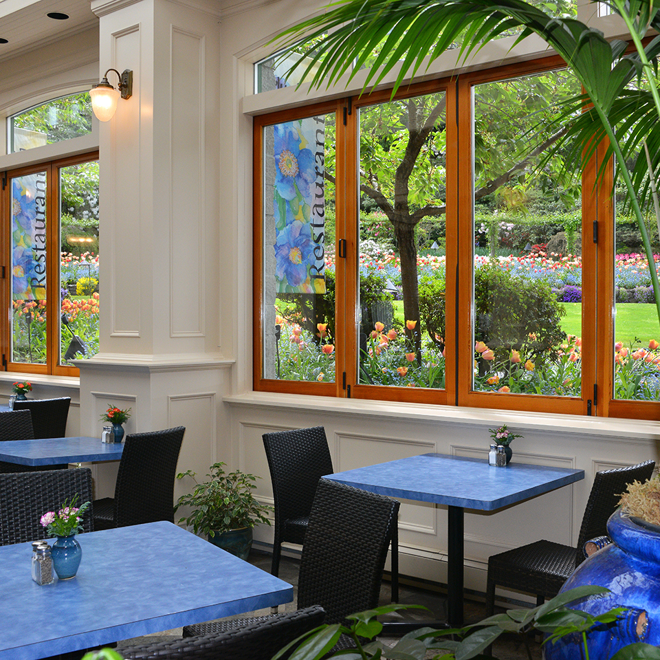 Butchart Gardens Dining Room Hours