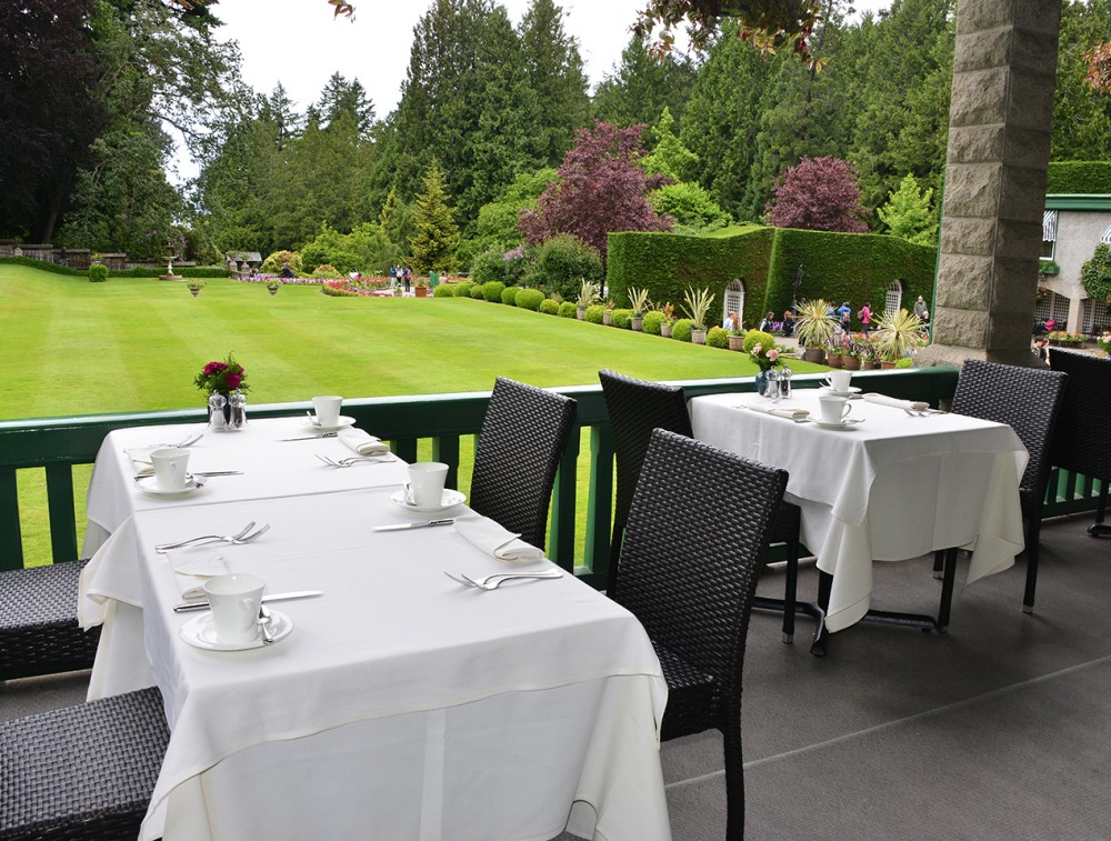 The Butchart Gardens – Victoria, BC – The Dining Room