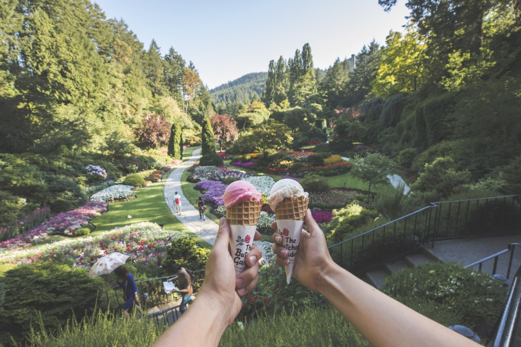 Everything You Need To Know About Gelato At The Butchart Gardens