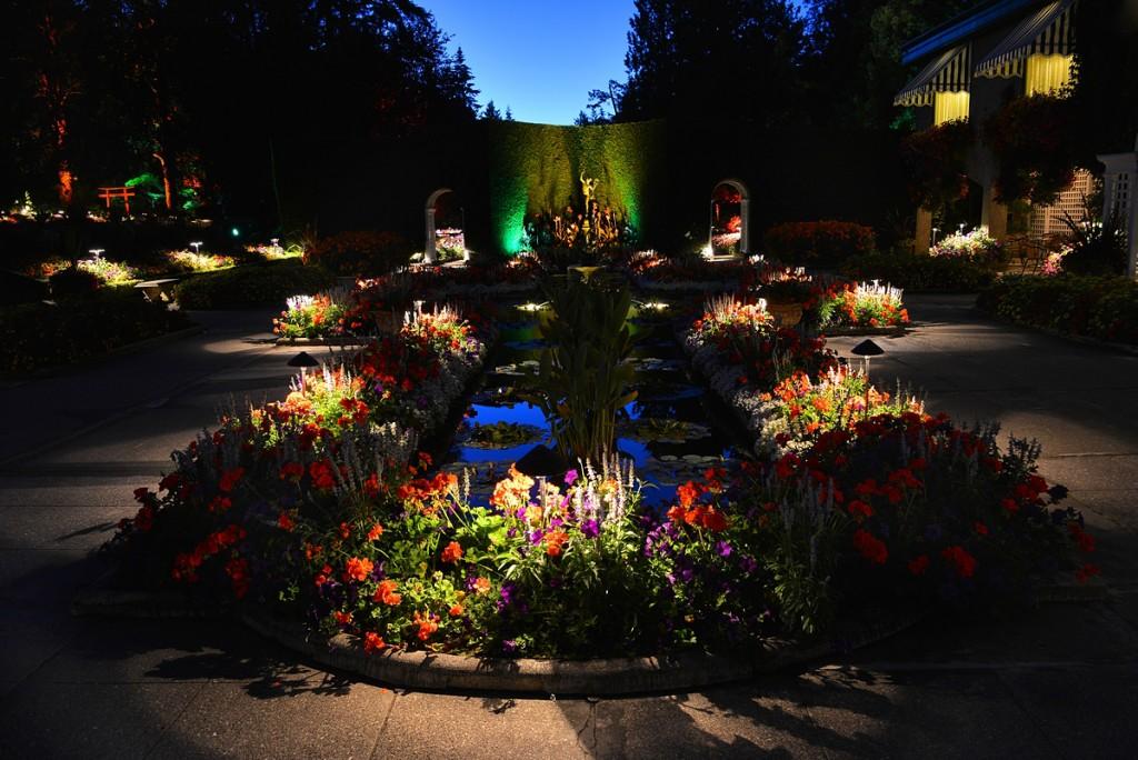 The Gardens After Dark The Butchart Gardens