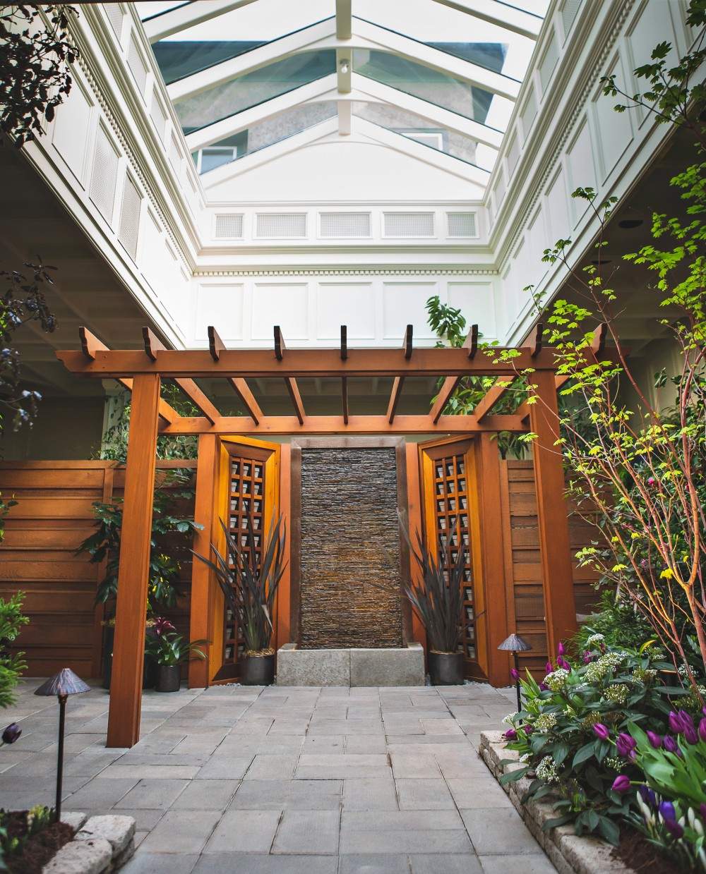 Indoor Wedding Ceremony Victoria Bc: The Butchart Gardens