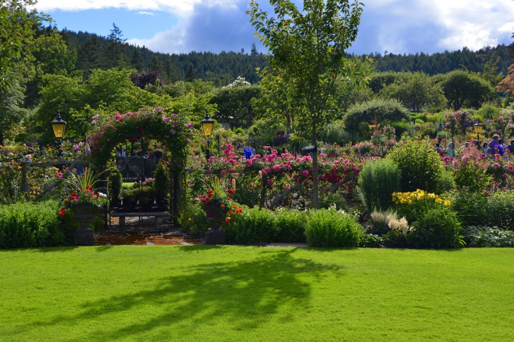 The Butchart Gardens Victoria Canada Visiting In The Summer