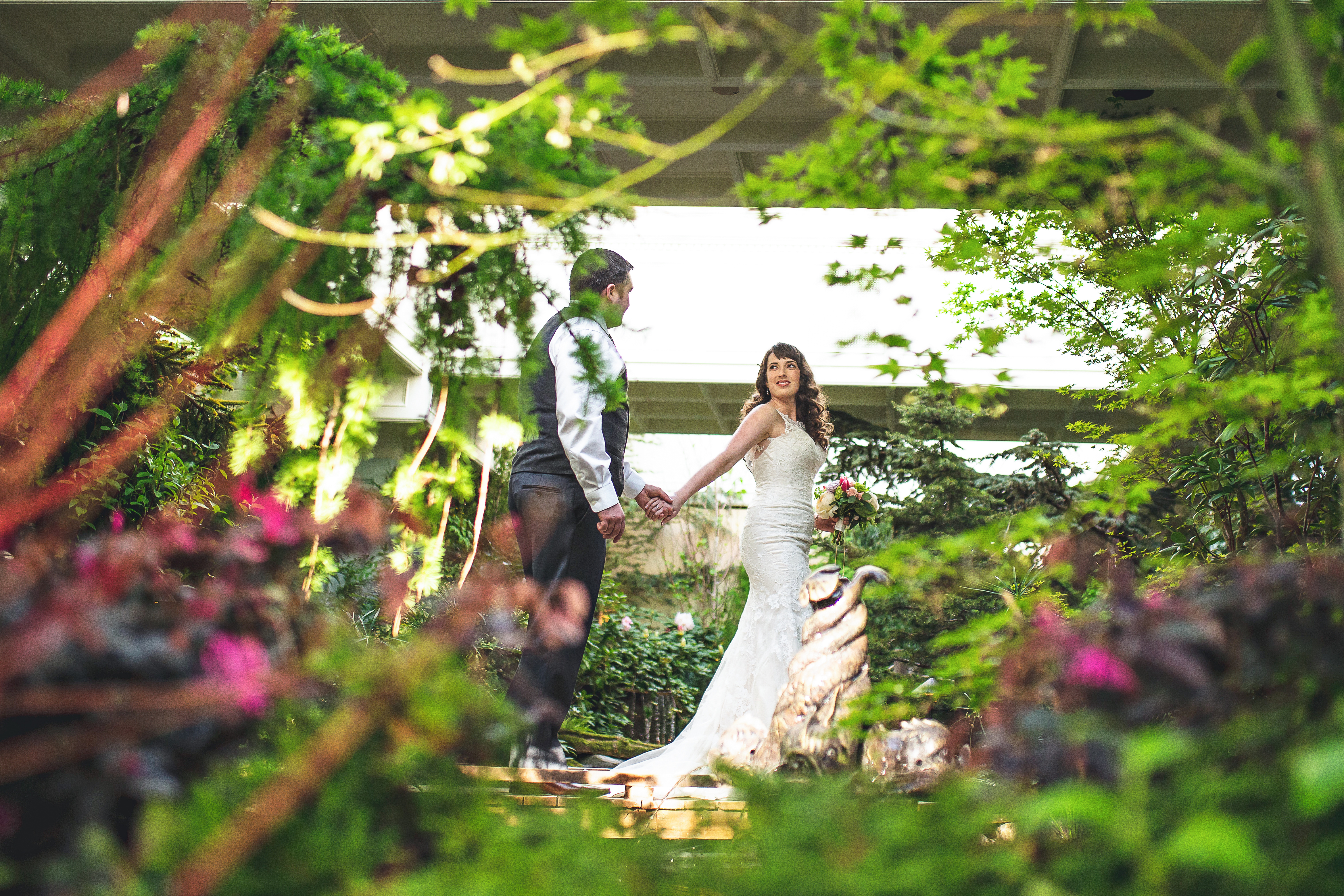 The Secrets Behind A Butchart Gardens Wedding The Butchart Gardens